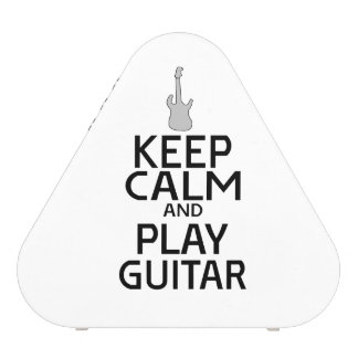Keep Calm and Play Electric Guitar - Custom Color Speaker