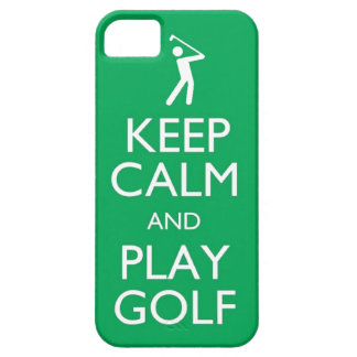 keep calm and play golf Golf Ball phone case sport iPhone 5 Cases