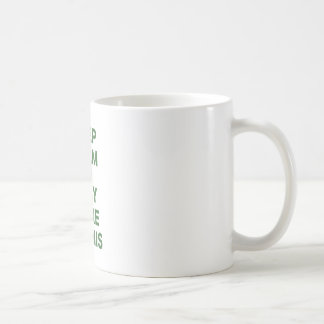 Keep Calm and Play More Tennis Coffee Mugs