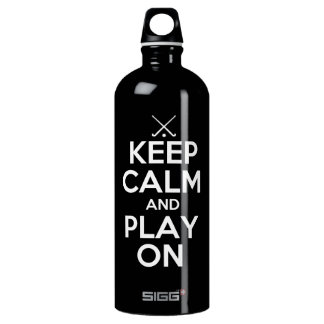 Keep Calm and Play On - Field Hockey SIGG Traveller 1.0L Water Bottle