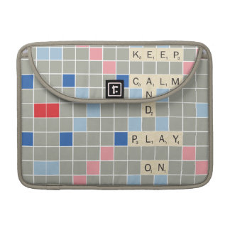 Keep Calm And Play On Sleeves For MacBook Pro