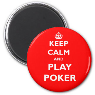 keep calm and play poker symbol british casino magnet