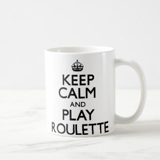 Keep Calm and Play Roulette (Carry On) Mug