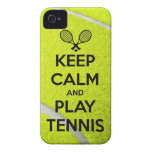 Keep calm and play tennis sport ball racket sports
