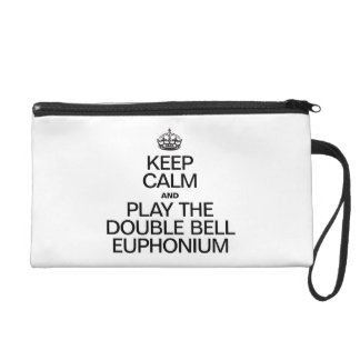 KEEP CALM AND PLAY THE DOUBLE BELL EUPHONIUM WRISTLETS