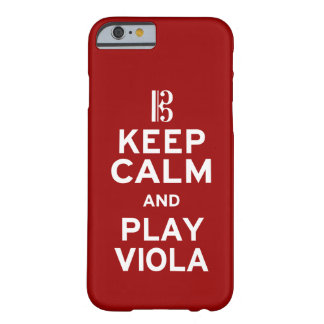 Keep Calm and Play Viola Barely There iPhone 6 Case