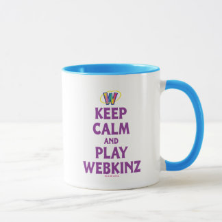 Keep Calm And Play Webkinz Mug