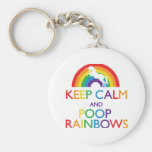 Keep Calm and Poop Rainbows Unicorn