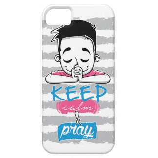 Keep calm and pray barely there iPhone 5 case