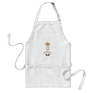 Keep Calm and Pray for Priests Standard Apron