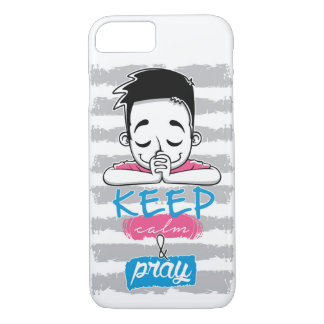Keep calm and pray iPhone 8/7 case