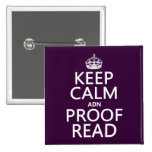 Keep Calm 'and' Proofread (adn) (in any colour)