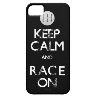 keep calm and race on case for the iPhone 5