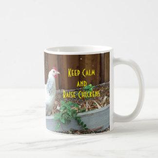 Keep Calm and Raise Chickens Coffee Mug