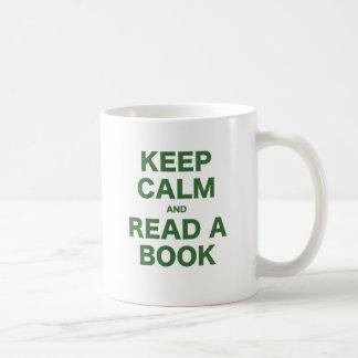 Keep Calm and Read a Book Coffee Mug