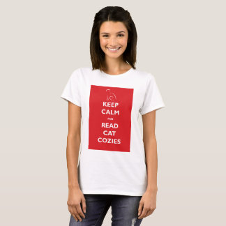 Keep Calm and Read Cat Cozies T-shirt