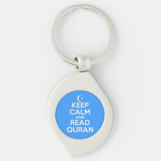 Keep Calm and Read Quran Key Ring