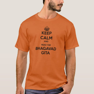 Keep Calm and Read the Bhagavad Gita T-Shirt