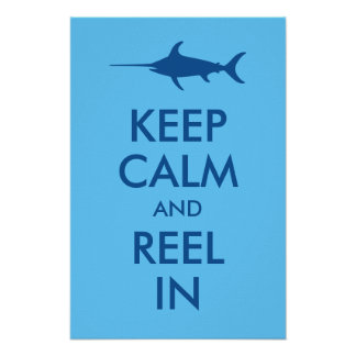 Fishing posters for Keep it reel fishing