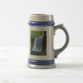 Keep Calm and Relax Coffee Mug