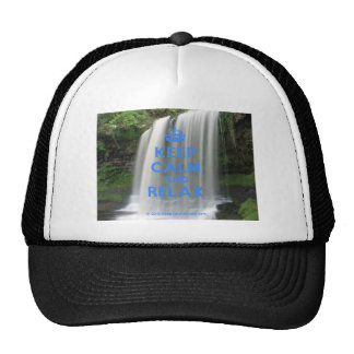 Keep Calm and Relax Mesh Hats