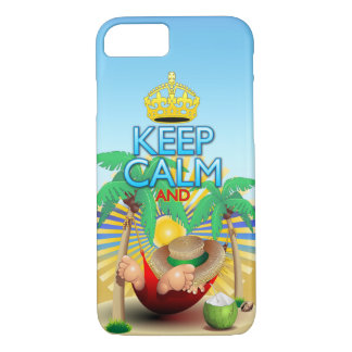 Keep Calm and...Relax on Hammock! iPhone 7 iPhone 7 Case