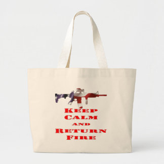 Keep Calm And Return Fire Bag