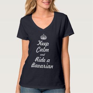 Keep calm and ride a Bavarian T-Shirt