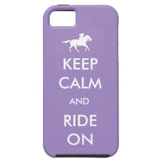 keep calm and ride on case for the iPhone 5