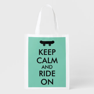 Keep Calm and Ride On Skateboarding Rider Custom
