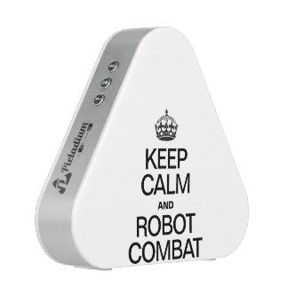 KEEP CALM AND ROBOT COMBAT BLUETOOTH SPEAKER