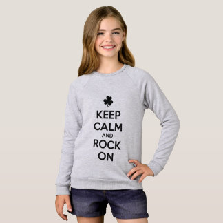 KEEP CALM and ROCK ON - Irish Dance Sweatshirt