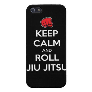 keep calm and roll jiu jitsu case for iPhone 5/5S