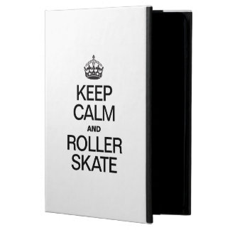KEEP CALM AND ROLLER SKATE COVER FOR iPad AIR