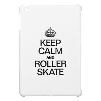 KEEP CALM AND ROLLER SKATE iPad MINI COVER