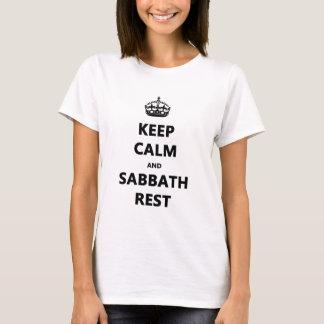 KEEP CALM AND SABBATH REST T-Shirt