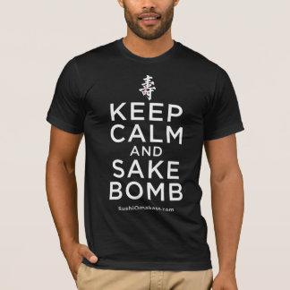 Keep Calm and Sake Bomb Shirt
