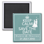 Keep Calm and Save the Date (fully customisable)