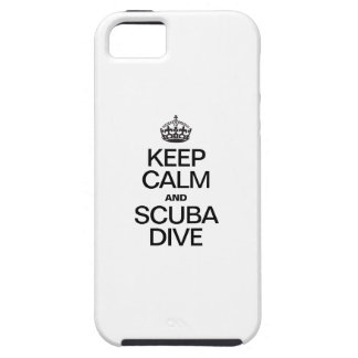 KEEP CALM AND SCUBA DIVE iPhone 5 CASE