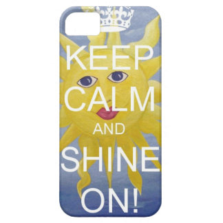 Keep Calm and Shine On! iPhone 5 Covers