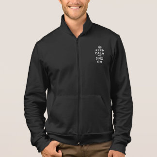 Keep Calm and Sing On Jacket