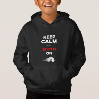 Keep Calm And Sloth On. Sloth Lover. Funny Nerdy