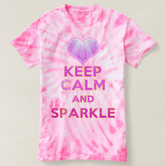 Keep Calm and Sparkle Inspiration T-Shirt