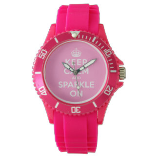 Keep Calm and Sparkle On Watch