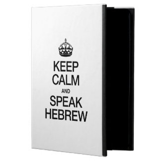 KEEP CALM AND SPEAK HEBREW COVER FOR iPad AIR