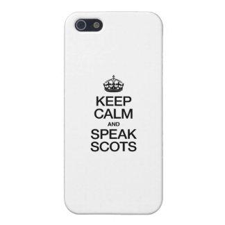 KEEP CALM AND SPEAK SCOTTISH GAELIC iPhone 5/5S CASE