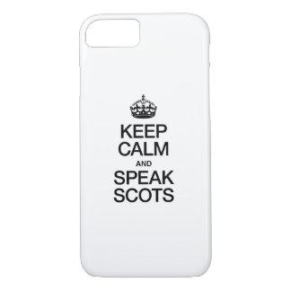 KEEP CALM AND SPEAK SCOTTISH GAELIC iPhone 7 CASE