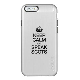 KEEP CALM AND SPEAK SCOTTISH GAELIC INCIPIO FEATHER® SHINE iPhone 6 CASE