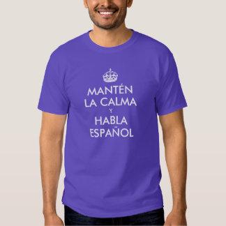Keep Calm and Speak Spanish T-shirt