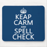 Keep Calm and Spell Check (with errors)(any